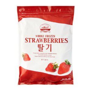 Whole frozen Strawberry